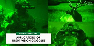 Applications of night vision goggles