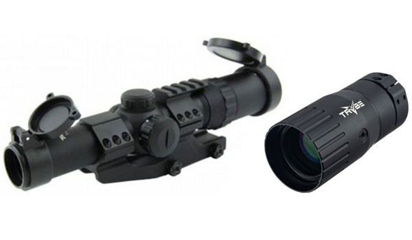 Tacfire 1-4X24 Tri Illuminated scope