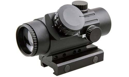 Vector Optics 1x30 MOA Compact Tactical Prism Riflescope