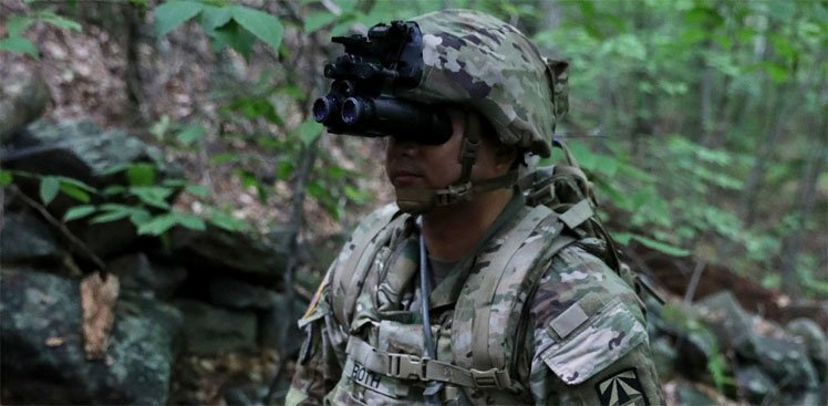 NVGs in military defense