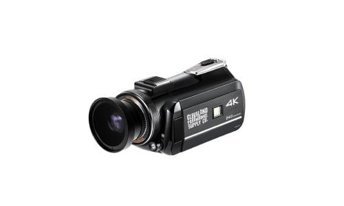 4K Ultra HD Infrared Night Vision and Full Spectrum Camcorder