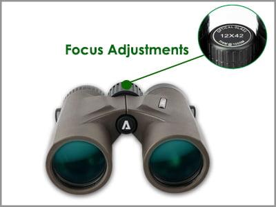 Focus Adjustment of Night Vision Binoculars