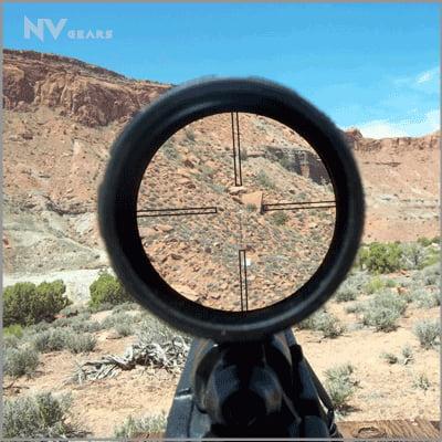 Optics of long-range Scope for AR-15