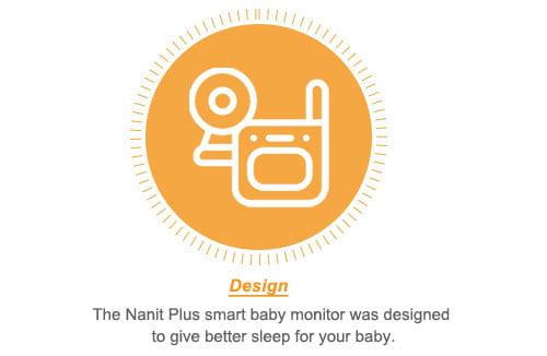 Nanit Plus Smart Baby Monitor design
