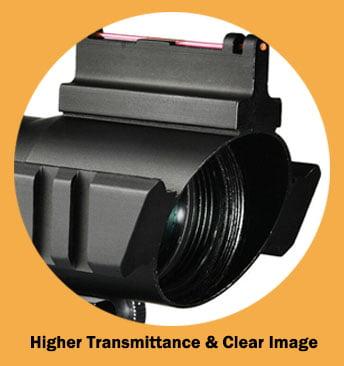Multi-coated lens