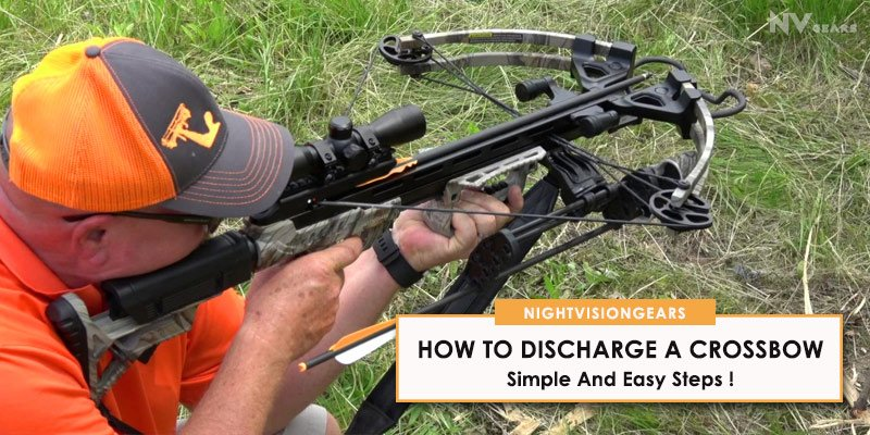 How To Discharge a Crossbow