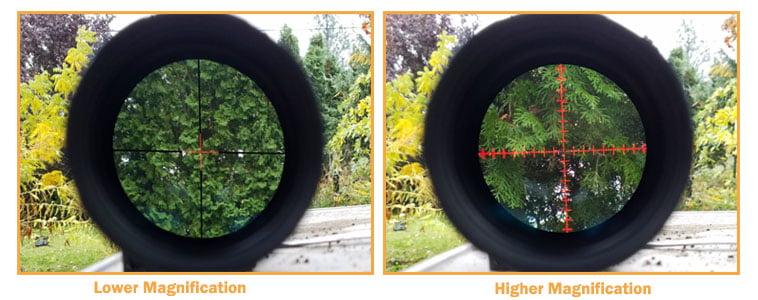 Magnification Range
