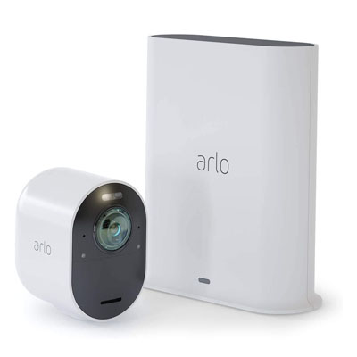 Arlo VMS5140-100NAS Ultra - 4K UHD Wire-Free Security 1 Camera System