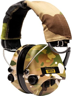 Sordin Supreme Pro X - Active Safety Ear Muffs