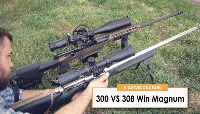 300 VS 308 Win Magnum