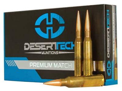 Desert Tech Premium Match .338 Lapua Magnum 300 Grain