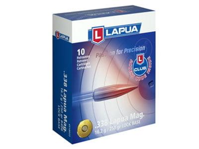Lapua Lock Base .338 Lapua Magnum 250 grain