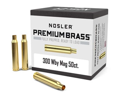 Nosler Custom Rifle Brass .300 Weatherby Magnum
