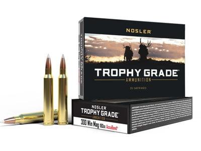 Nosler Trophy Grade .300 Winchester Magnum 180 Grain