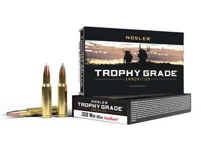 Nosler Trophy Grade .308 Winchester 165 Grain